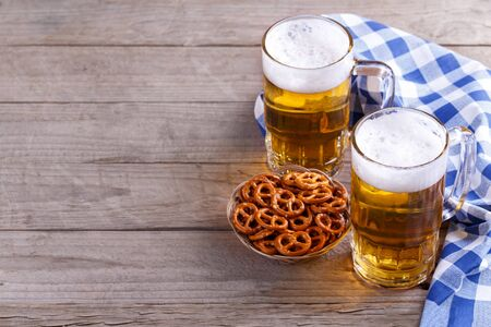 Traditional german food festival dishes