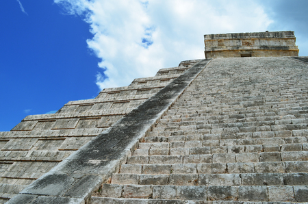 yucatan: Mayan pyramid of Kukulkan in Mexico, Yucatan