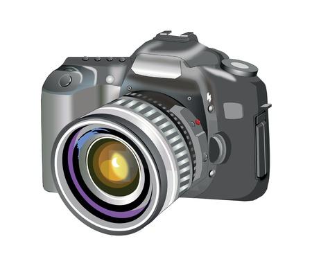 reflexe: appareil photo reflex Illustration