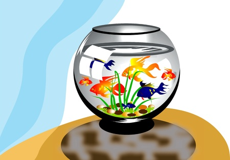 aquarium Stock Vector - 12832006