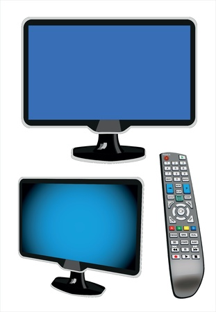 LCD TV with control board