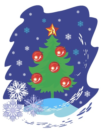 Christmas tree Stock Vector - 15149979