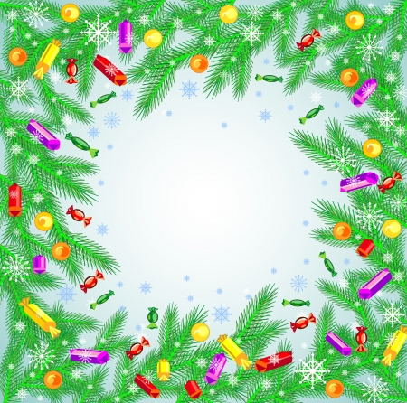 Beautiful Christmas background  Illustration