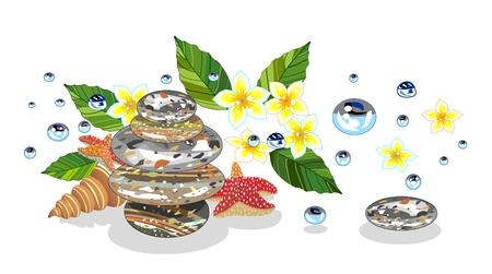 Set of spa symbols  Stock Vector - 17431547