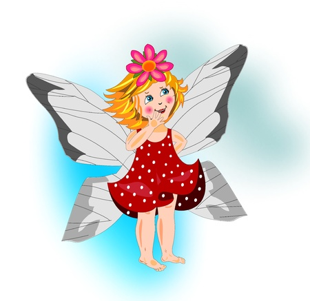 Little fairy Stock Vector - 18446725