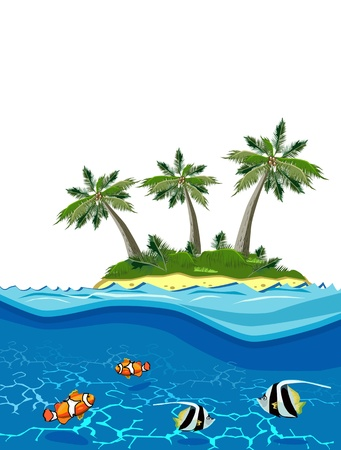 image of Paradise Island Stock Vector - 19156359
