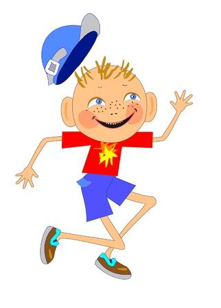 funny boy  Illustration