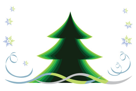 Christmas tree Stock Vector - 34772667