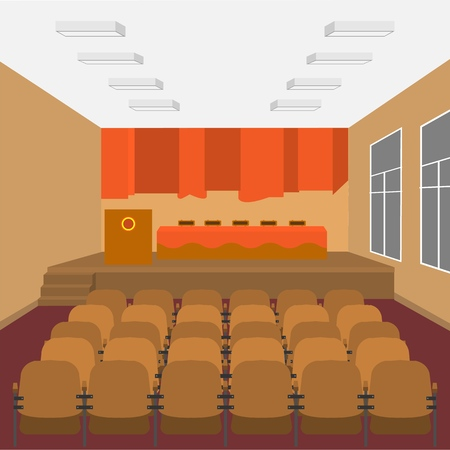 School assembly hall - for events, school concerts, parties, holidays