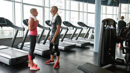 Gym is good place to meet new friends Standard-Bild