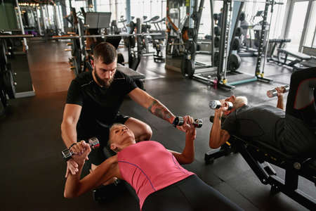 Experienced trainer promotes age graded physical activities