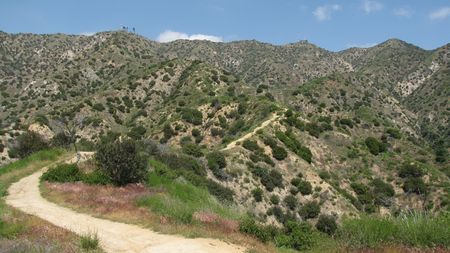 burbank: On the Vital Link trail in Burbank, CA