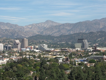 burbank: Strawberry Peak and Burbank, CA viewed from Griffith Park