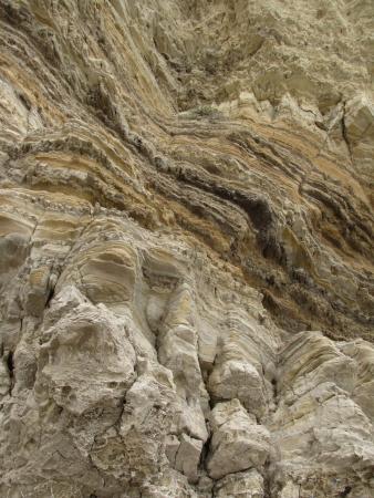 zuma: Sandstone geology, Zuma Beach, Malibu, CA