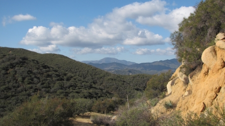 riverside county: View on the way to Sitton Peak, Riverside County, CA