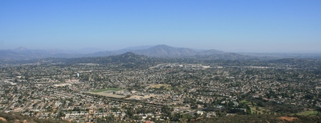 suburbs: View from Cowles Mountain, San Diego, CA
