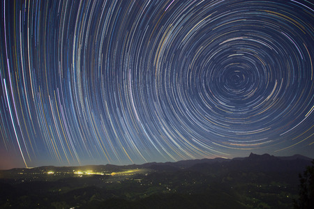 Southern Star Trail over Springbrook