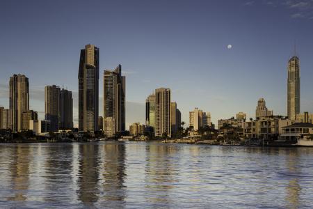Gold Coast Skyline from Gold Coast Arts Centre