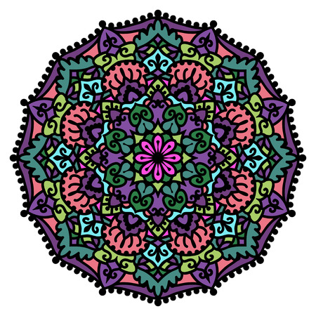 Mandala  Vector Circle Ornament  Design Element Stock Vector - 23104023