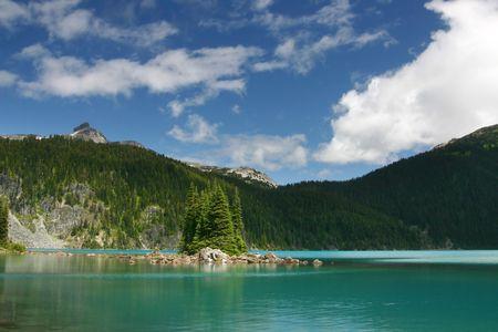 garibaldi: A view of Garibaldi Lake in BC, Canada.