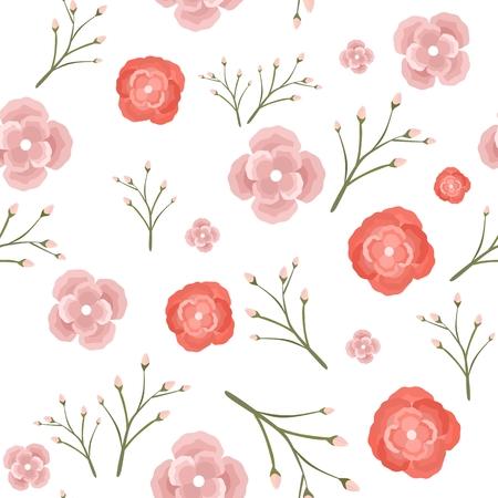 Floral Pattern 向量圖像