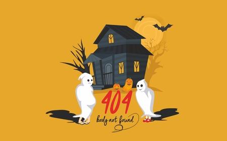Foutpagina Halloween