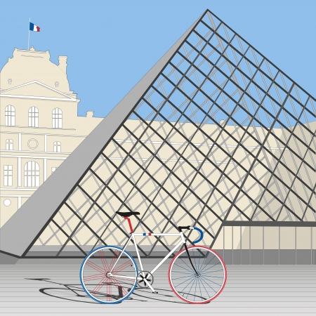 Velo de France Vector