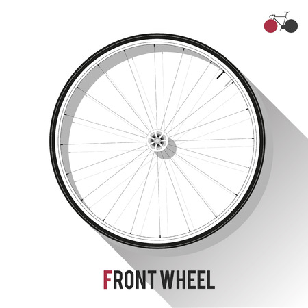 clincher: Front Wheel