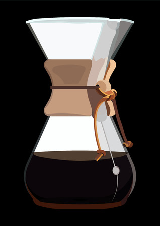 siphon: Coffee Maker with Coffee