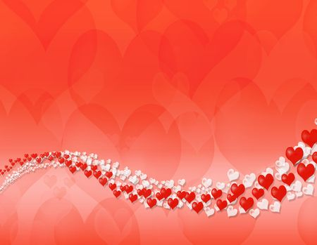 Happy valentine day abstract background Banque d'images
