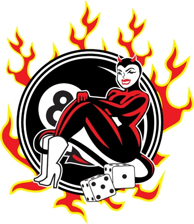 rockabilly: Devil Girl