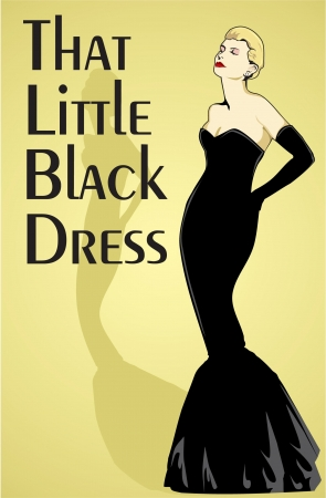 Little Black Dress Иллюстрация