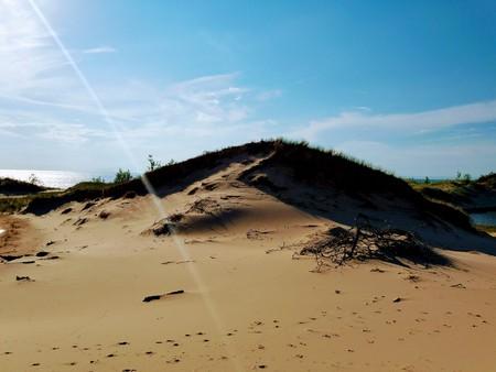 Sunbeam Over Sand Dunes (2)