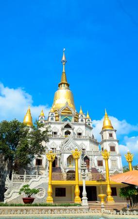 recluse: Buu Long pagoda at Ho Chi Minh City, Vietnam, near Suoi Tien Theme Park.