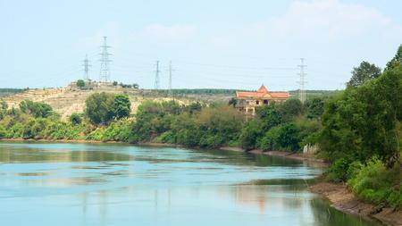 megawatt: An impounded lake in Dong Nai, Vietnam