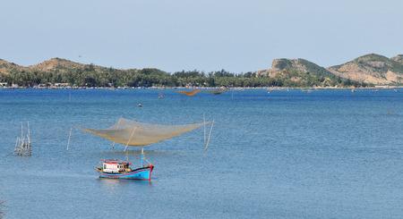 trang: Colorful fishing boats in Nha Trang, Vietnam