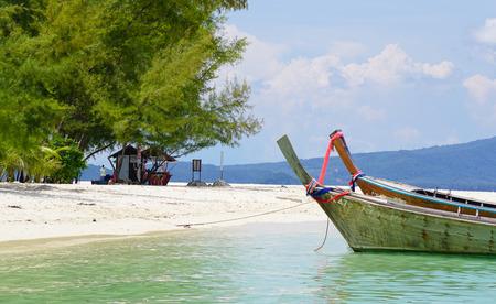 Colorful fishing boats in Nha Trang, Vietnam