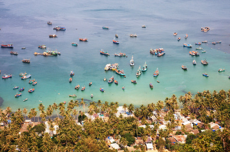 nam: Nam Du islands, Kien Giang province, Vietnam. Nam Du islands located 90 km west of Rach Gia city in Kien Giang. Nam Du islands has become an attractive destination for tourists.