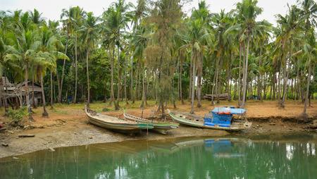 ray ban: Serenity river in Dong Nai southern Vietnam. Stock Photo