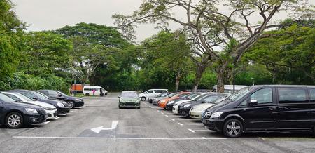 capita: Singapore - Jun 22, 2015. Car parking lot at bus terminal in Singapore. The per-capita car ownership rate in Singapore is 12 cars per 100 people (or 1 car per 8.25 people).