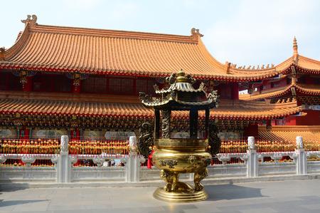 jiufen: Chinese temple in Jiufen town, Taipei, Taiwan.