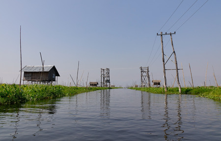 hype: Stilted houses in village on Inle lake, Myanmar. The Inle Lake region is one of Myanmars most anticipated destinations and all the hype is justified.