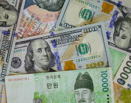 米ドル 韓国 ウォン 米ドル(USD) へ 韓国ウォン(KRW)
