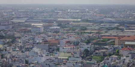 steadily: Yangon, Myanmar - Feb 14, 2017. Modern buildings at business district in Yangon, Myanmar. The city area has steadily increased to 598.75 square kilometres in 2008.