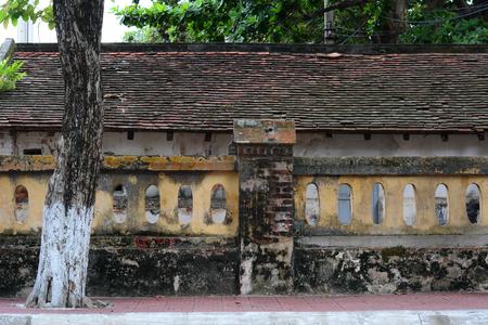 French-colonial architecture in Con Dao island, Vietnam.