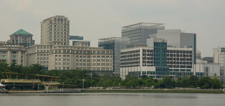 almost all: Putrajaya, Malaysia - Jul 7, 2015. Buildings in Putrajaya, Malaysia. As of 2012 almost all of Malaysia governmental ministries had relocated to Putrajaya. Editorial