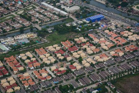 Chiang Mai, Thailand - Jun 25, 2016. Aerial view of Chiang Mai, Thailand. Chiang Mai was a former capital of the Kingdom of Lan Na (1296–1768).