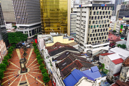 Kuala Lumpur, Malaysia - Jan 2, 2017. Old Market Square in Kuala Lumpur, Malaysia. Kuala Lumpur is a centre for finance, insurance, real estate, media and the arts.