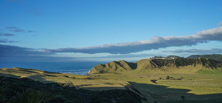 Beautiful mountain landscape of the North Island, New Zealand.