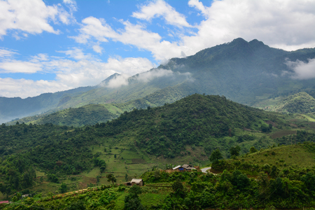 Hoa Lien Son Range in Lai Chau Province, North of Vietnam.